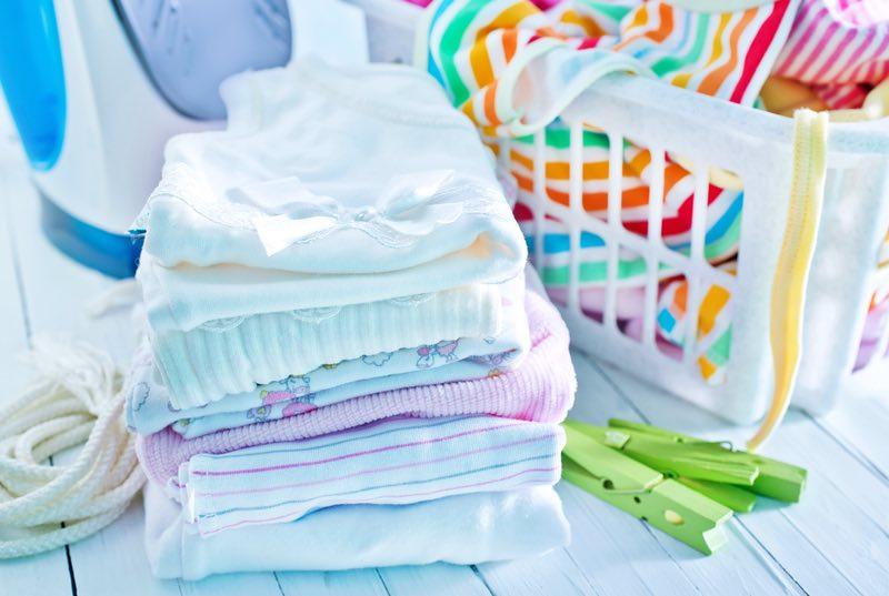 lavar as roupas